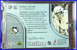 05/06 UD The Cup Signature Patch Sidney Crosby 34/75