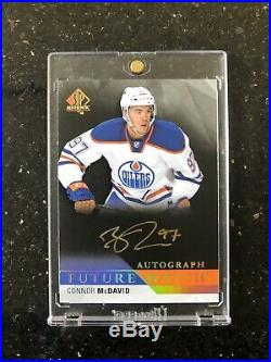 15/16 Connor McDavid SP Authentic Future Watch Black