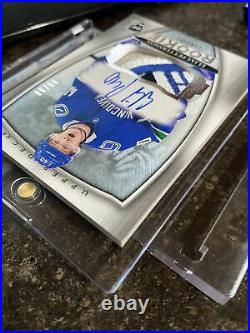 18-19 UD The Cup ELIAS PETTERSSON Rookie Patch Auto 99/99 RPA ARP Top Patch