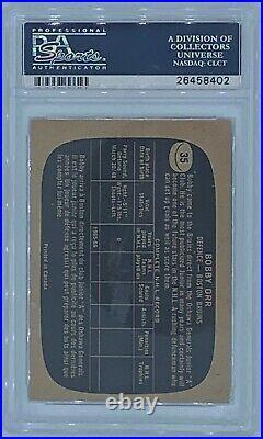 1966 Topps Bobby Orr ROOKIE RC #35 PSA Grade 6 HOF- hockey card- INVESTMENT