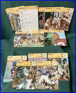 1977-79 Sportscaster Card Collection 600+ Cards-Ali, Bruce Lee, Unitas, Olympics