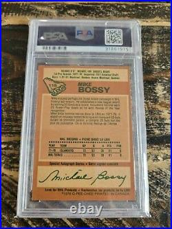 1978-79 O-Pee-Chee Mike Bossy Rookie Card #115 PSA 8 NM-MT Vintage Hockey