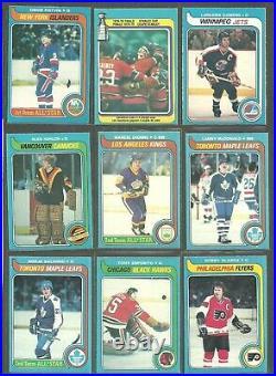1979-80 O-PEE-CHEE Hockey set 395/396 cards PACK FRESH BOBBY HULL GORDIE HOWE