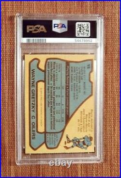 1979-80 O-Pee-Chee #18 Wayne Gretzky Edmonton Oilers Rookie Hockey Card PSA 4 RC