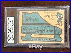 1979 80 O-Pee-Chee #18 Wayne Gretzky RC Rookie BVG 5 EX 1st PRINT LINES