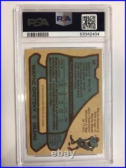 1979-80 O-Pee-Chee #18 Wayne Gretzky rookie card PSA 5
