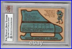 1979-80 O-pee-chee Opc #18 Rookie Rc Card Wayne Gretzky Bvg 7.5 Oilers Hof
