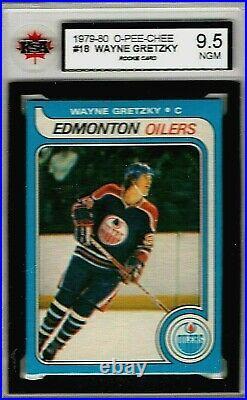 1979-80 O-pee-chee Rookie (wayne Gretzky) Ksa Ngm 9.5 #18