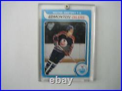 1979-80 Topps #18 Rookie Card Wayne Gretzky Oilers Rangers Kings