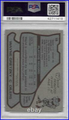 1979-80 Topps Hockey WAYNE GRETZKY #18 Rookie Card PSA 6 EX-MT