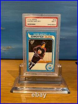 1979-80 Topps Wayne Gretzky Rookie Card RC #18 PSA 7 Near Mint Oilers