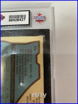 1979 OPC O-Pee-Chee Wayne Gretzky 18 HOF KSA 8.5 Rookie RC NNM+