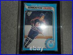 1979 O-Pee-Chee Hockey Wayne Gretzky #18 PSA KSA 3 VG Rookie 1st Print withlines