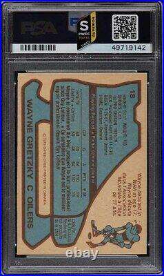 1979 O-Pee-Chee Hockey Wayne Gretzky ROOKIE RC #18 PSA 7 NRMT (PWCC-S)