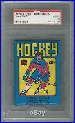 1979 O Pee Chee Opc Pack Psa 9 Mint Wayne Gretzky Rookie Rc Psa 10 $1,000,000
