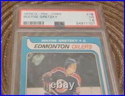 1979 O Pee Chee Wayne Gretzky PSA 1.5 Rookie Card! Hof GOAT