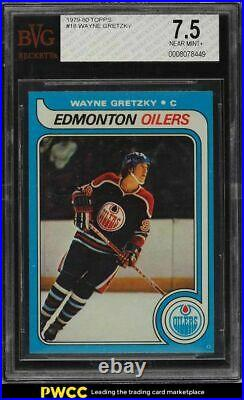 1979 Topps Wayne Gretzky ROOKIE RC #18 BVG 7.5 NRMT+