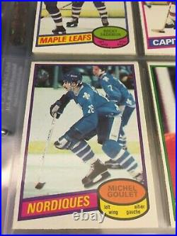 1980 81 OPC O-Pee-Chee Complete set 396/396 Gretzky 2nd Messier Gartner Bourque