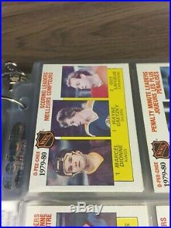 1980 81 OPC O-Pee-Chee Complete set 396/396 Gretzky Messier Gartner Bourque Rc
