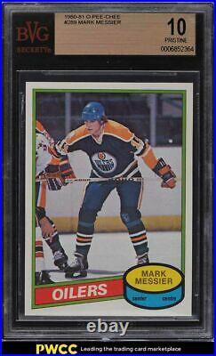 1980 O-Pee-Chee Hockey Mark Messier ROOKIE RC #289 BVG 10 PRISTINE