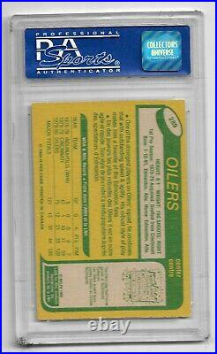 1980 O-Pee-Chee Mark Messier PSA 8 NM-MT #289 Rookie Card RC Hockey OPC High End