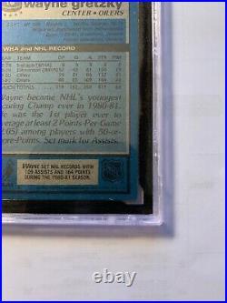 1981-82 Topps Wayne Gretzky KSA 10 #16 Hockey Card! Perfect Gem Mint 3rd Year