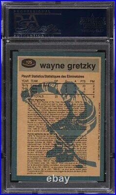 1981 O-Pee-Chee Hockey Wayne Gretzky #125 PSA 10 GEM MINT