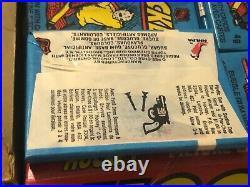 1982-83 OPC O-Pee-Chee Hockey Card Wax Pack Box Gretzky, Fuhr RC 48 Packs