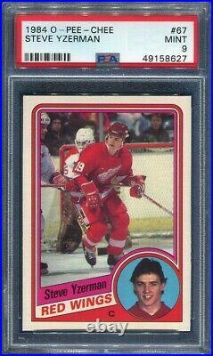 1984/85 OPC Steve Yzerman #67 Rookie Card PSA 9 Mint Centered PWCC E