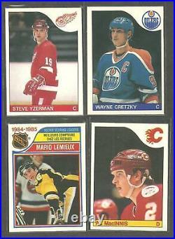 1985-86 O-PEE-CHEE OPC Hockey set 263/264 cards NM/MT Pack fresh! WAYNE GRETZKY