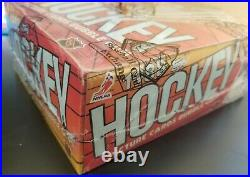 1988/89 Topps Hockey Wax Pack Box Bbce Authenticated & Sealed
