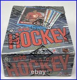 1989-90 OPC NHL Hockey Card BOX 48 Unopened Wax PACKS Sealed BBCE O Pee Chee