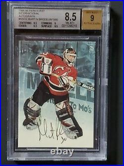 1995/96 MARTIN BRODEUR 1st Autographed Card #26/1500 Cup Championship year