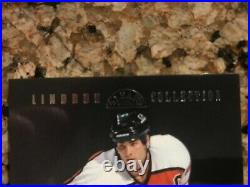1997-1998 Leaf 5 of Five Eric Lindros Collection 025/100 White Game Jersey Card