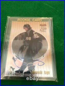 1998-99 Bowmans Best On Card Autograph Auto Jaromir Jagr Pittsburgh Penguins SP