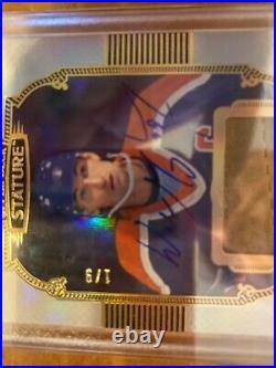 19-20 Stature Ultra Rare Wayne Gretzky Auto And Glove Swatch. #d 1/9. Ebay 1of1