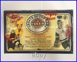 2001-02 Fleer Greats of the Game Hockey Hobby Box Factory Sealed