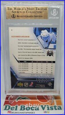 2005-06 UPPER DECK ALEXANDER OVECHKIN ROOKIE CARD RC TRUE BGS 9.5 Gem Mint #2