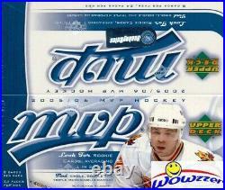 2005/06 Upper Deck MVP MASSIVE 24ct Retail Box-Sidney Crosby, Ovechkin RC Year