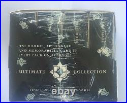 2005-06 Upper Deck Ultimate Collection Factory Sealed Hobby Hockey Box HTF