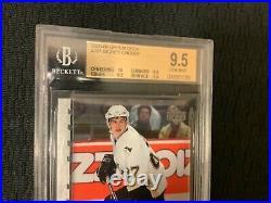 2005 Upper Deck Young Guns #201 Sidney Crosby RC Rookie BGS 9.5 GEM MINT 10 Sub