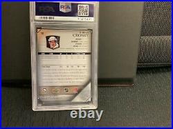 2005 Upper Deck Young Guns #201 Sidney Crosby RC Rookie PSA 10 GEM MINT