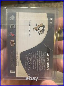 2010-11 SP Authentic Sign of the Times Auto Sidney Crosby On-Card Auto