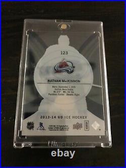 2013-14 Ice Premieres #123 NATHAN MACKINNON SP Rookie Card /99 Colorado