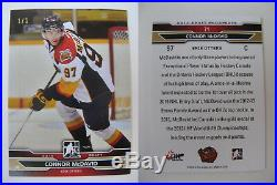 2014-15 ITG Draft Prospects #71 Connor McDavid 1/1 RC gold Rookie HOLY GRAIL