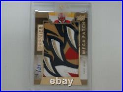 2014-15 Ud Premier Hockey R. Luongo Mega Patch Card 14/27 Chest Logo