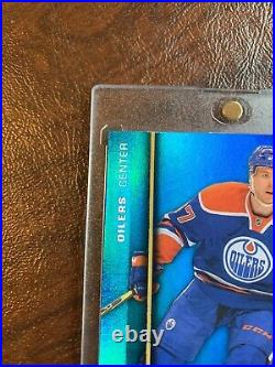 2015-16 Fleer Showcase Precious Metal Gems Blue /50 Connor McDavid Rc PMG