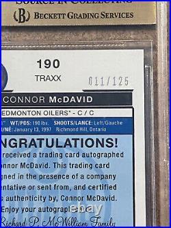 2015-16 OPC Platinum Connor McDavid Rookie/Auto Card! Pop 4