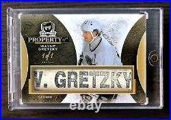 2015-16 The Cup Property Of #POWG Wayne Gretzky 1/1 1of1 RARE Oilers Kings