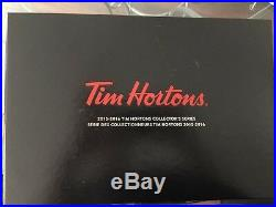 2015-16 UD Upper Deck Tim Hortons Collector Book Complet Set Crosby Auto /300